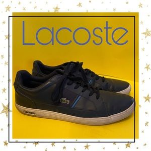 Lacoste Navy Leather Sneakers 14